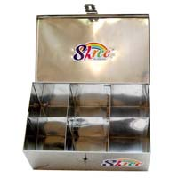 Stainless Steel Masala Box