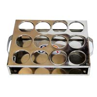 Stainless Steel Catering Glass Stand