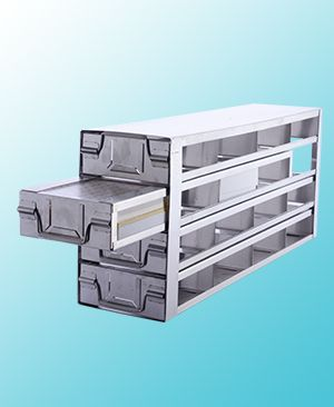 DRAWER STYLE FREEZER RACKS, STAINLESS STEEL