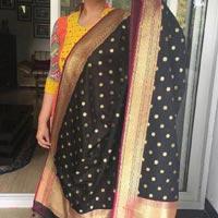 Banarasi Silk Dupatta 43