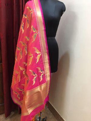 Banarasi Silk Dupatta 24