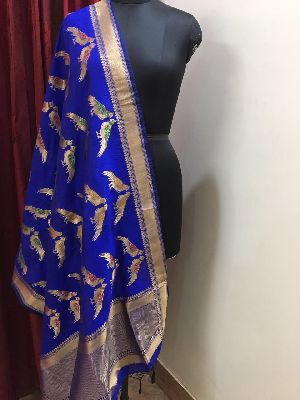 Banarasi Silk Dupatta 14