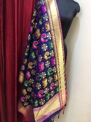 Banarasi Silk Dupatta 08