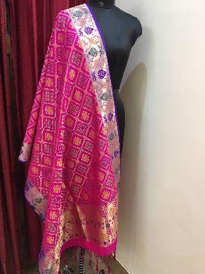 Banarasi Silk Dupatta 04