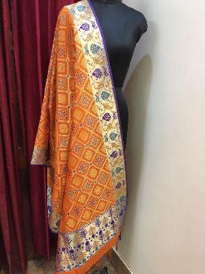 Banarasi Silk Dupatta 02
