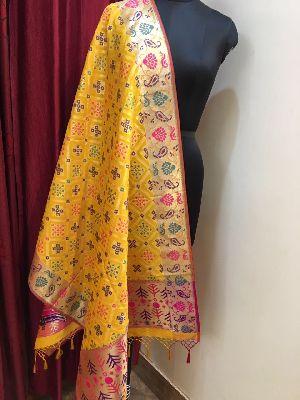 Banarasi Silk Dupatta 01