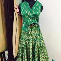 Banarasi Silk Lehenga 02