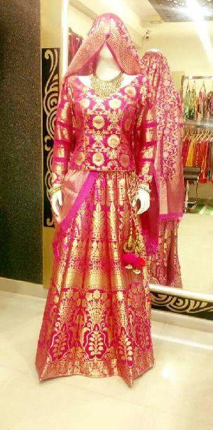 Banarasi Silk Lehenga 10