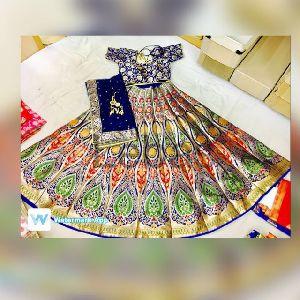 Banarasi Silk Lehenga 12