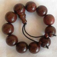 Red Sandalwood Wrist Mala