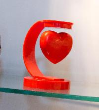 Heart Shaped Rotating Stand