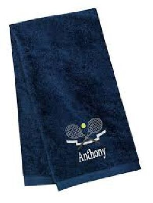 Blue Personalized Towels