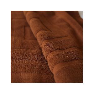 Brown Striped Hand Towels