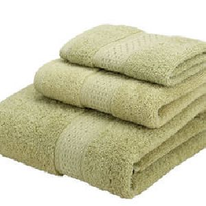 Green Face Towels