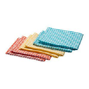 Dyed Checkered Kitchen Towels