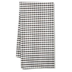 Dyed Checkered Bath Towels