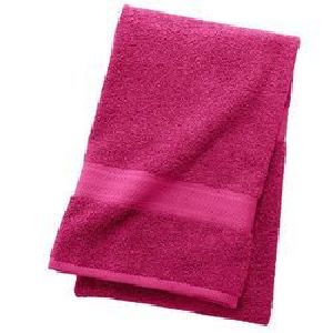 Magenta Cotton Hand Towels