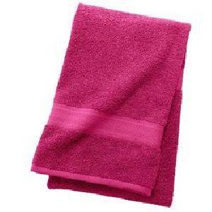 Magenta Cotton Hand Towels