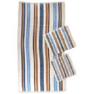Striped Face Towels
