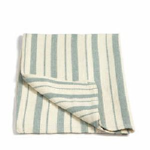 Woven Striped Hand Towels