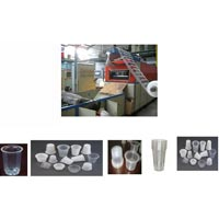 Fully Automatic Disposal Plastic Glass Making Machine