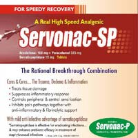 Aceclofenac 100mg + Paracetamol 500mg Tablets