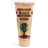Rayon Gold Facial Scrub Tube