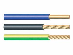 H05V-U,H05V-R,H05V-K,300/500V Copper Conductor PVC Insulated Wire
