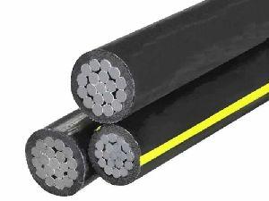 Triplex URD cable,Triplex Aluminium Conductor 600V Secondary Type URD cable