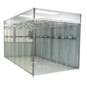 Aluminium Cleanroom Profiles