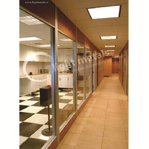 Low Height Glass Partitions