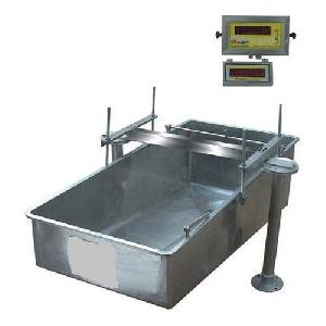 Stainless Steel Milk Weigh Bowl