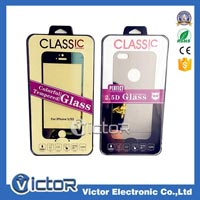 Colorful tempered glass film for iphone 6