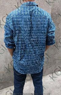 Hand Block Printed Mens Shirts