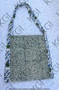 Hand Block Printed Bag 07