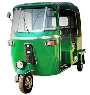 CNG Three Wheeler 01