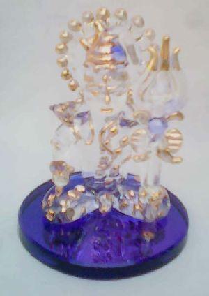 Glass Shiva Statue