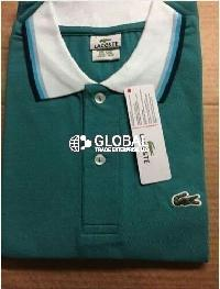 Lacoste Ss Contrast Collar Mens Polo T-Shirts 01