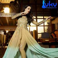 Ladies Bollywood Suit (VKV-1740)