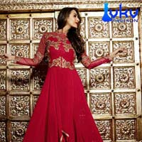 Ladies Bollywood Suit (VKV-1741)
