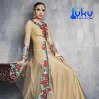 Ladies Bollywood Suit (VKV-1838)