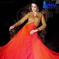 Ladies Bollywood Suit (VKV-1858)
