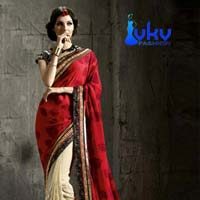 Party Wear Saree (VKV-1320)