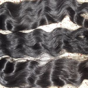 Single Drawn Virgin Wavy Hair