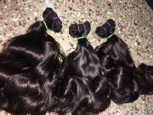 Virgin Double Drawn Bouncy Hair 03