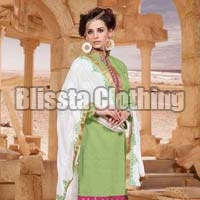 Light Green Embroidered Suit