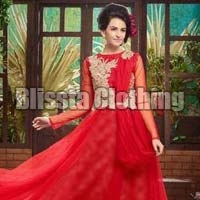 Red Stylish Gown