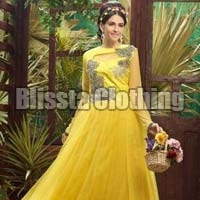 Yellow Traditional Gown
