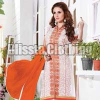 Classy White Salwar Suit