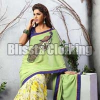 Formal Embroidered Saree